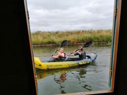 Year 4 kayaking fun