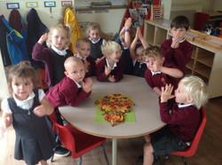 Yummy healthy pizza!