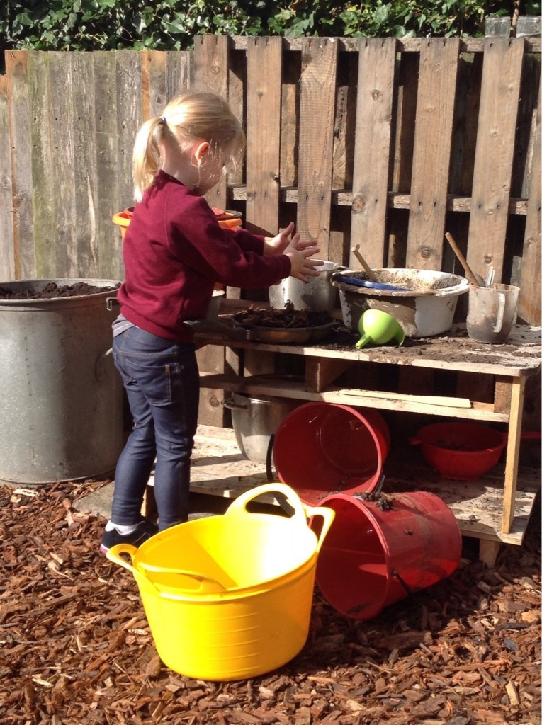 Mud kitchen chef