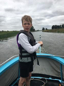Year 4 Narrowboat trip