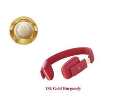 18k gold burgundy