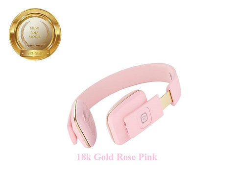 Bluetooth headset gold plated