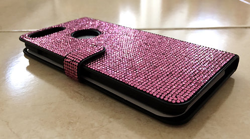Crystallized Pink Wallet Case