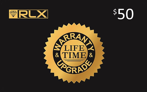 Life Time Warranty and Upgrade Card