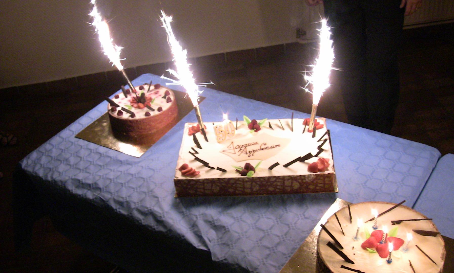 animation gâteau anniversaire