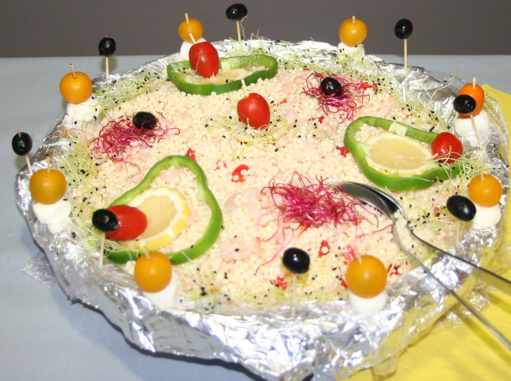 Salade de perle marine