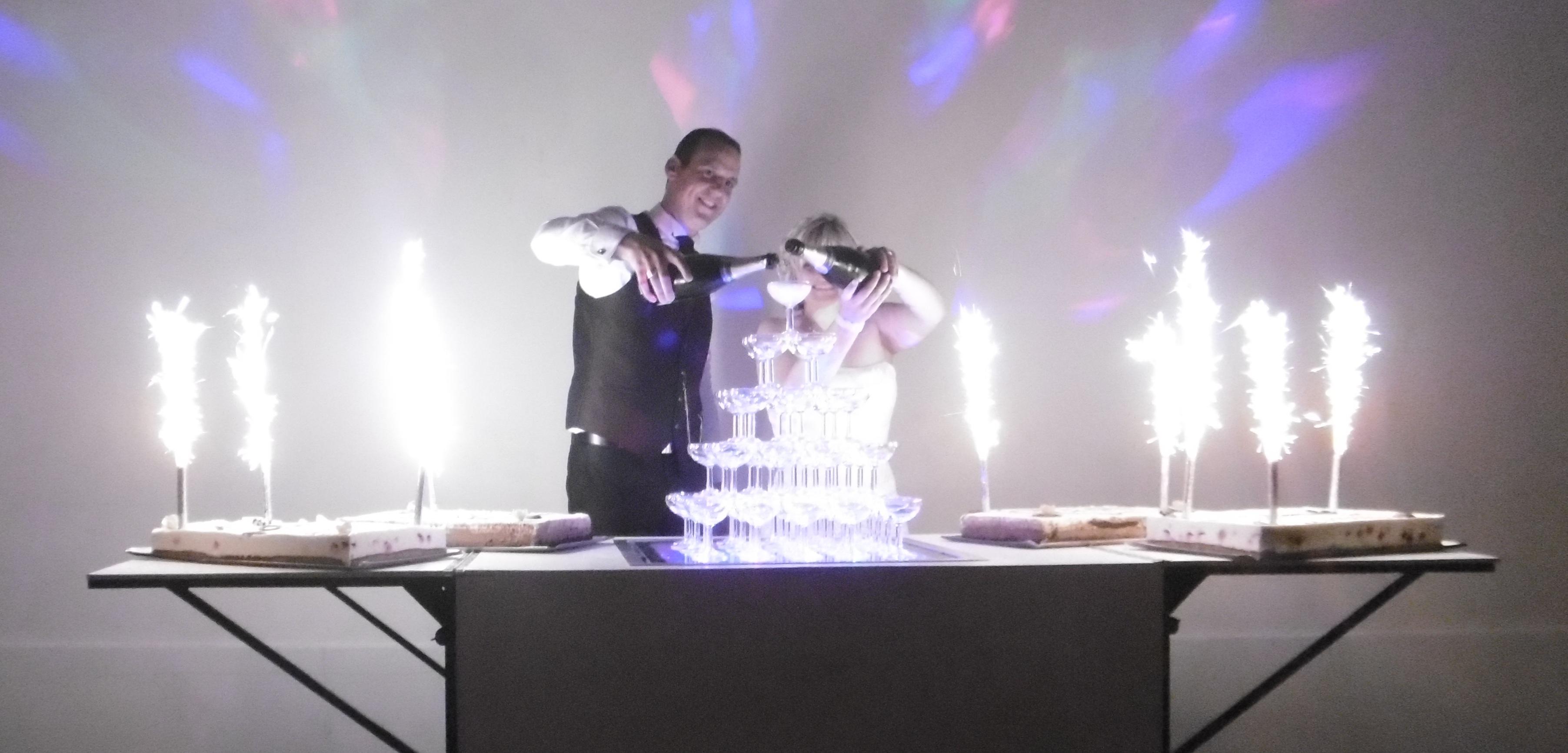 animation pâtisserie avec fusées