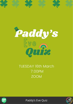 Paddy's Eve Quiz