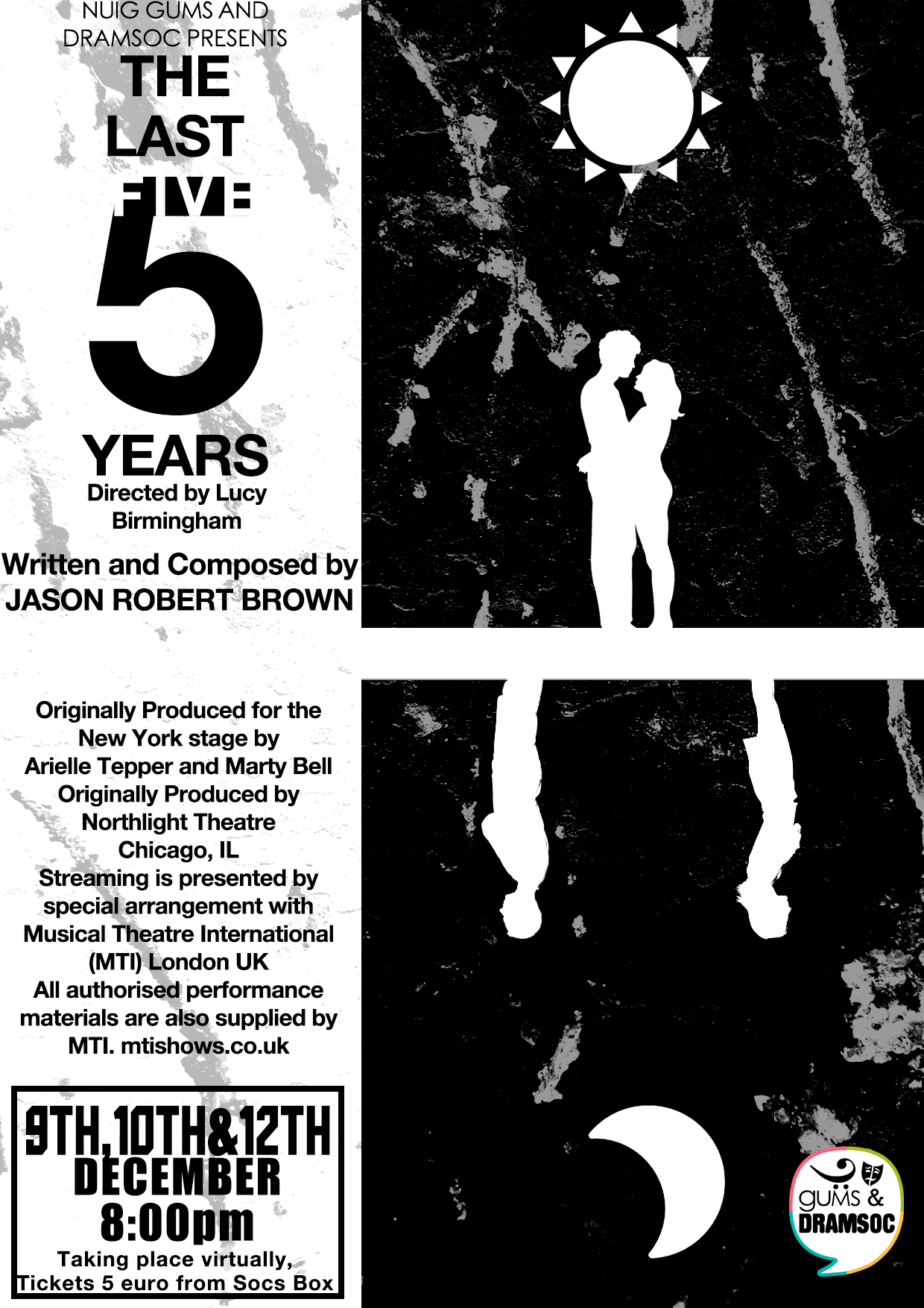 Last 5 Years Show Poster