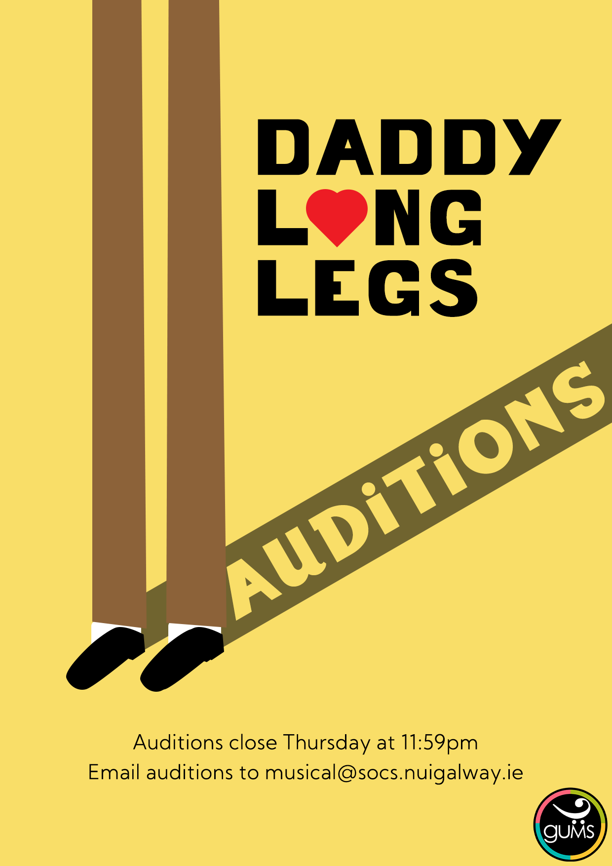 Daddy Long Legs Auditions