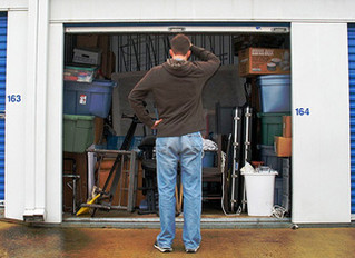 How to clean out your storage unit