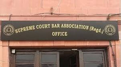 SC bar association condemned Delhi police raid in Mehmood Pracha's office and Etah lawyer's police assault saying that 'malicious act, defects right to advocate to practice'.