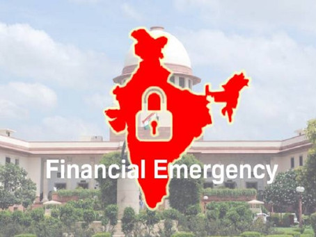 Financial Emergency and COVID -19 - An Analysis