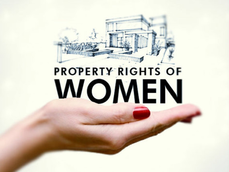 AN ANALYSIS OF, THE PROPERTY RIGHTS OF A FEMALE UNDER HINDU LAW WITH RECENT AMENDMENTS