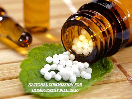 NATIONAL COMMISSION FOR HOMEOPATHY ACT, 2020