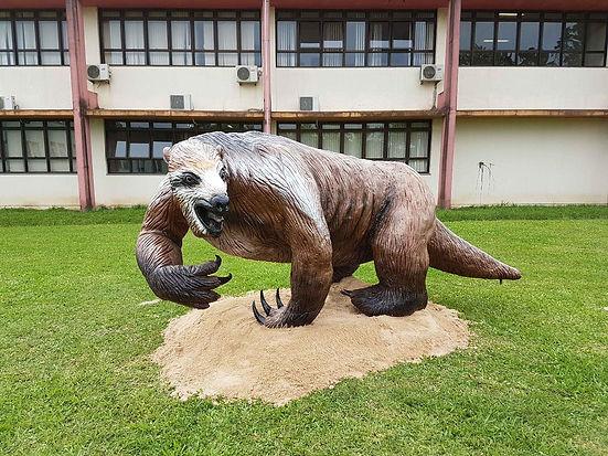 Megaterium - Preguiça gigante Unipampa Caçapava do Sul