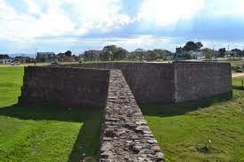 Muros Forte Dom Pedro II - Caçapava do Sul