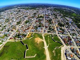 Foto aérea - hexagono Forte Dom Pedro II
