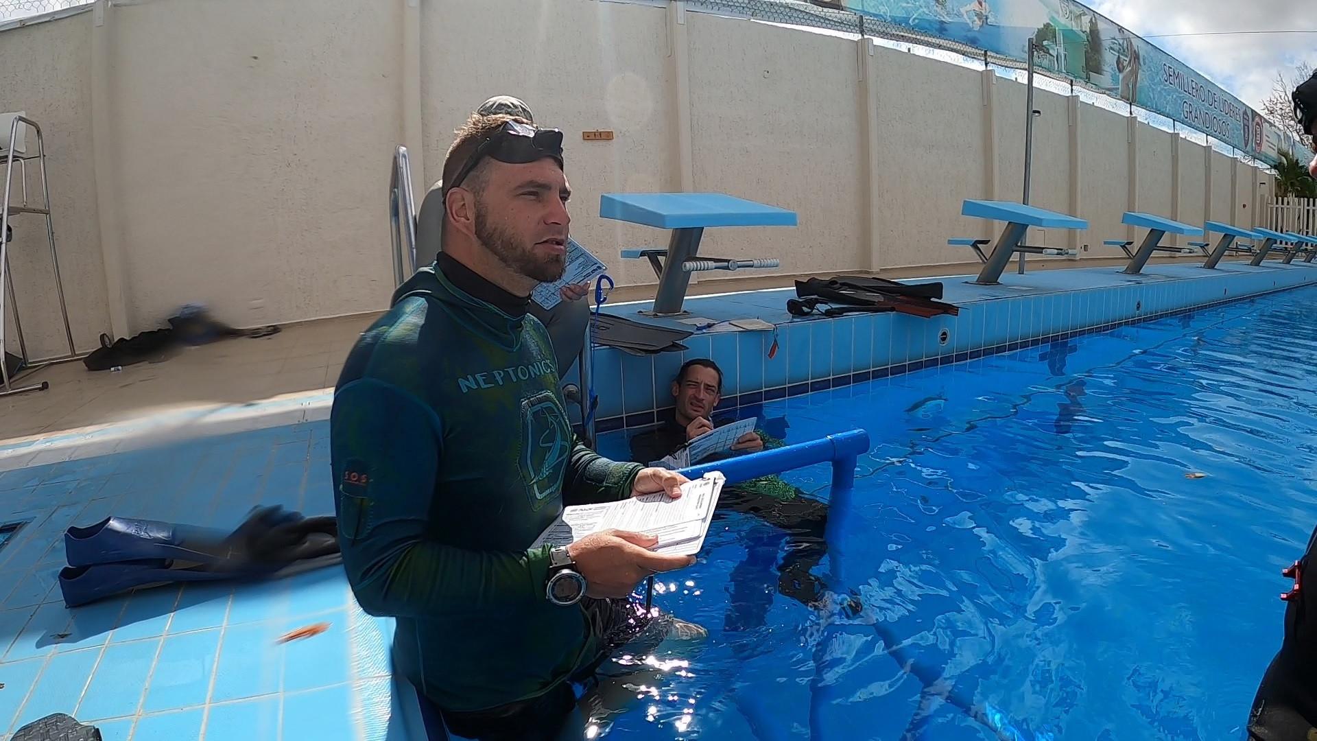 Freedive instructor 6-7 days