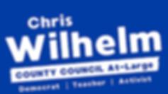 Chris Wilhelm Yardsign