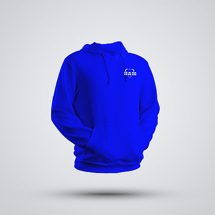 Men's Blue Embroidered HAM Hoodie