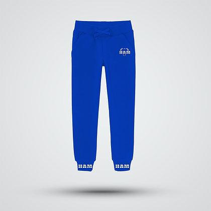 Women's Blue Logo Joggers