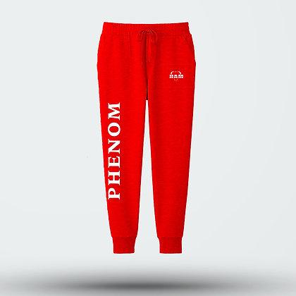 Red Phenom Joggers