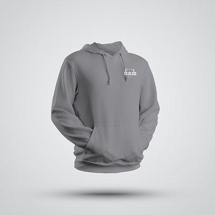 Men's Gray Embroidered HAM Hoodie