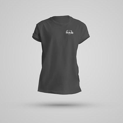 Women's Dark Gray HAM Logo Tee