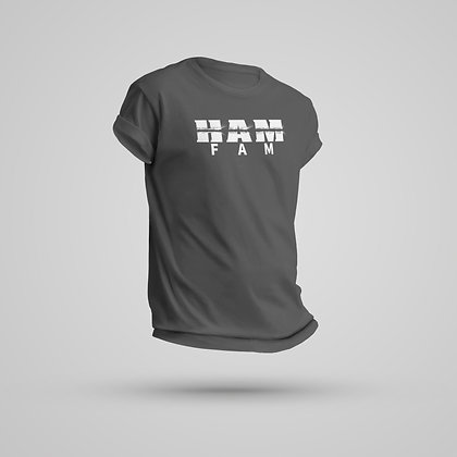 Men's Dark Gray HAM FAM Tee