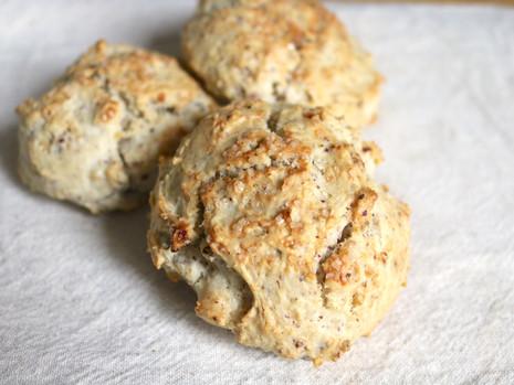 Śniadaniowe biszkopty, czyli klasyczne bisquits w roślinnym wydaniu (bez cukru rafinowanego)