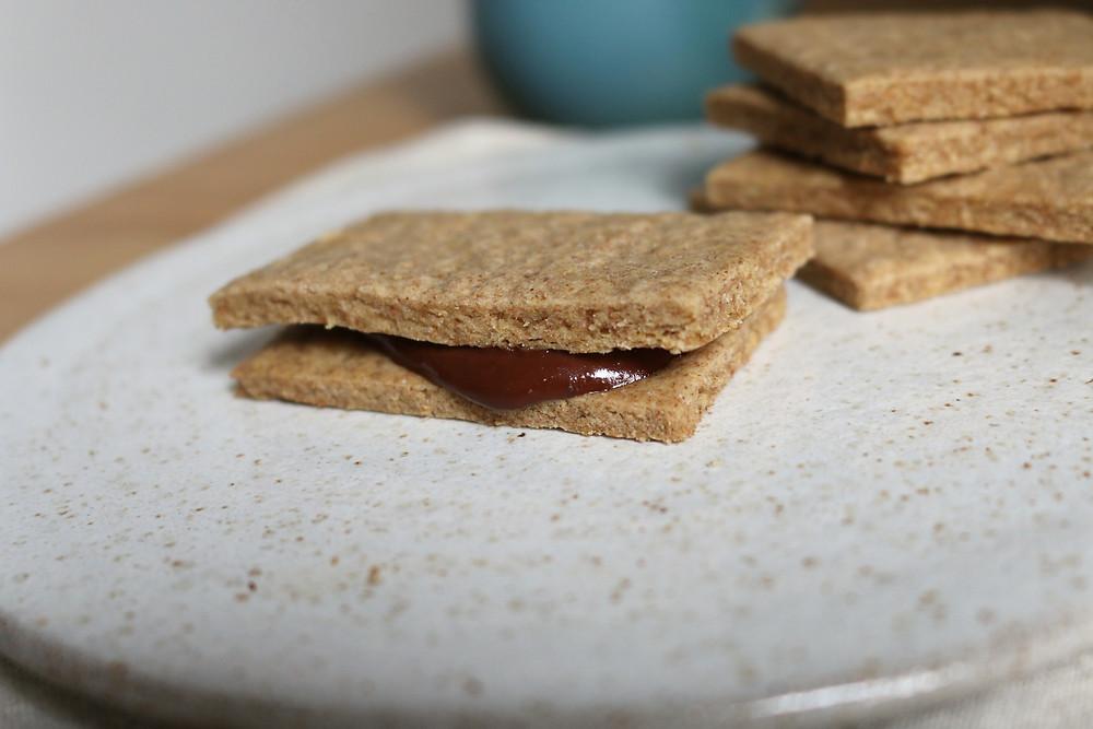 Przepis na Wegańskie krakersy (bez cukru rafinowanego)