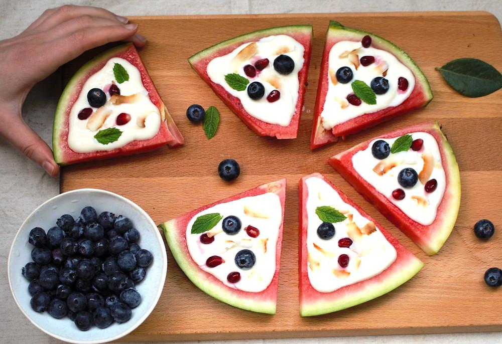 Przepis na pizzę z arbuza