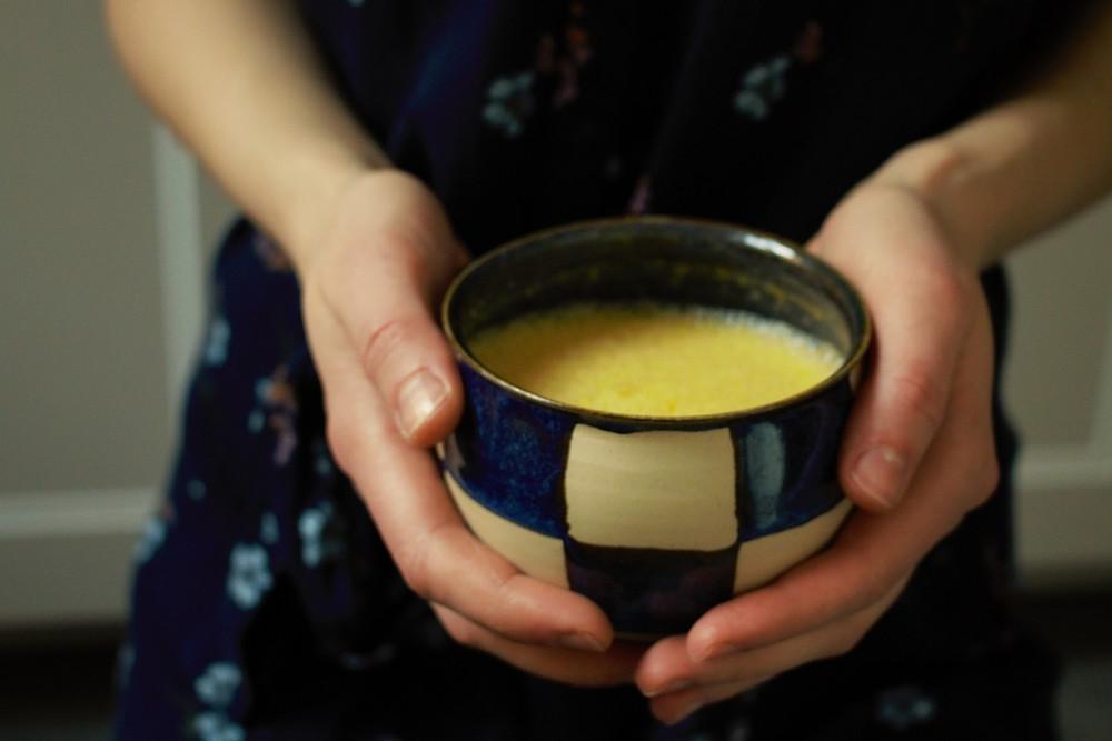 Przepis na Dyniową latte (wegańska, bezglutenowa, bez cukru rafinowanego)