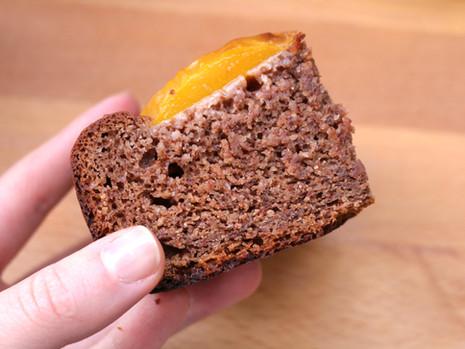 Piaskowe ciasto z owocami (wegańskie, bez cukru rafinowanego, z opcją bezglutenową)