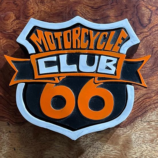 Motorcycle  Club 小物入れ