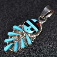 銘:Vera Halusewa 幸福の象徴,命の源を表す「サンフェイスのインレイトップ」