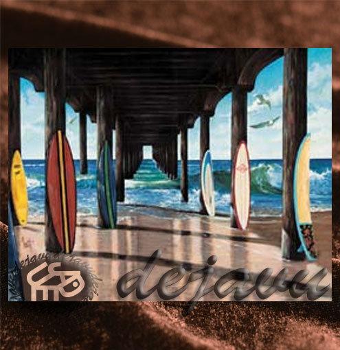 Santa Monica「ピア & サーフボード」