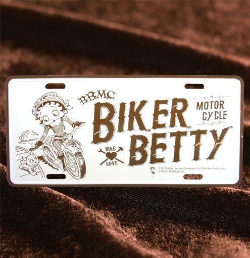Betty Boop Biker Motor Cycle