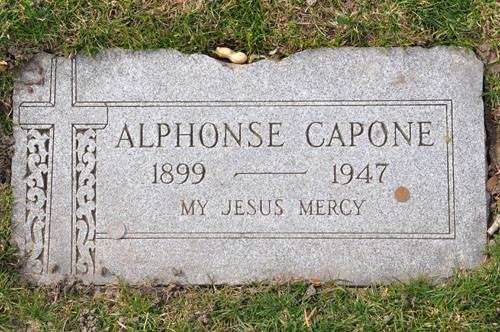 アルカポネ(Capone)の墓
