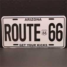 License Plate ─ Arizona Get your kicks