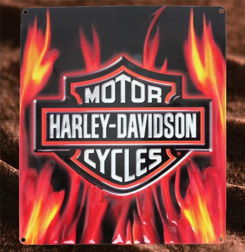Harley Davidson ロゴフレア