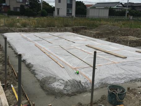 いよいよ基礎工事開始(^^)