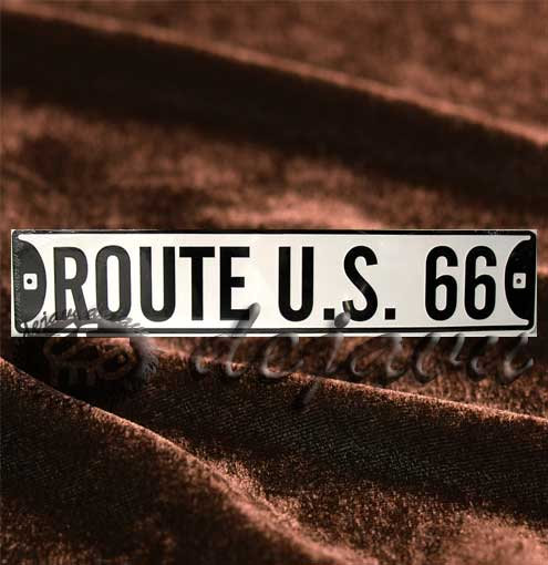 Long Plate ─ Route U.S. 66