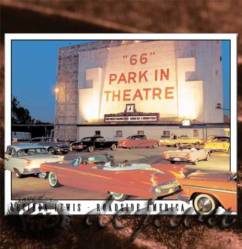 Tin Sign「Park in theatre」