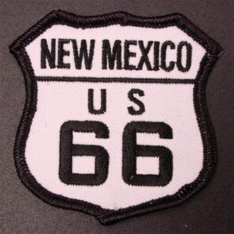 ルート66刺繍エンブレム─New Mexico