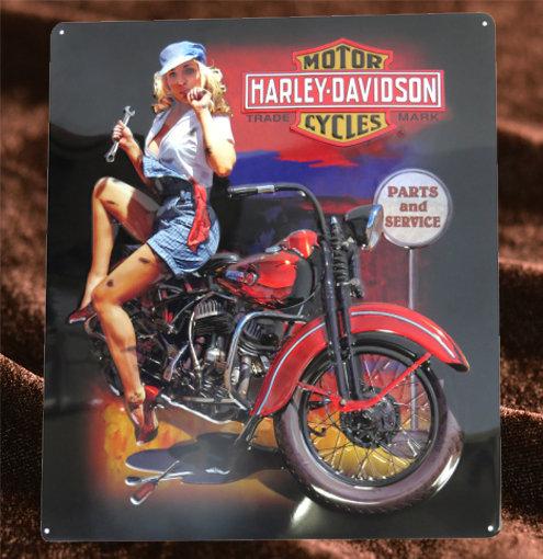 Harley Davidson ピンナップガール