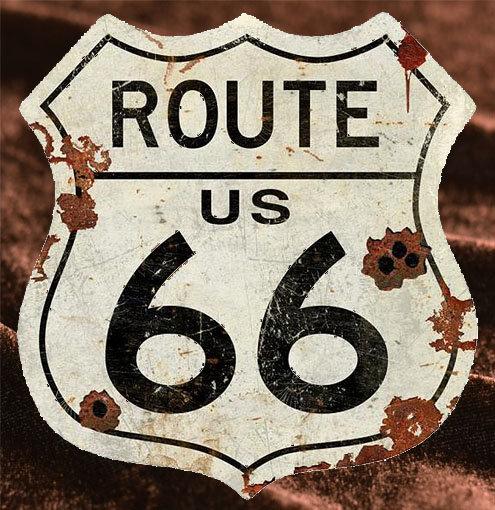 Route66 超大型サインボード