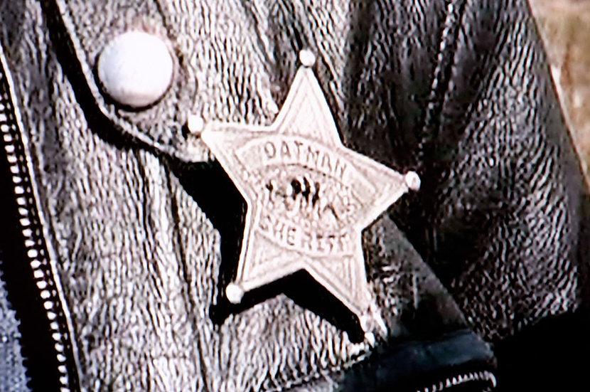 保安官バッジ