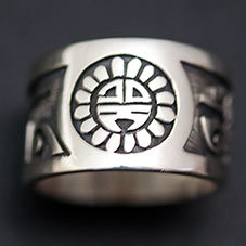 銘:Lucion Koinva 幸福の象徴,命の源を表す「サンフェイス,レインクラウドのリング(#11)」